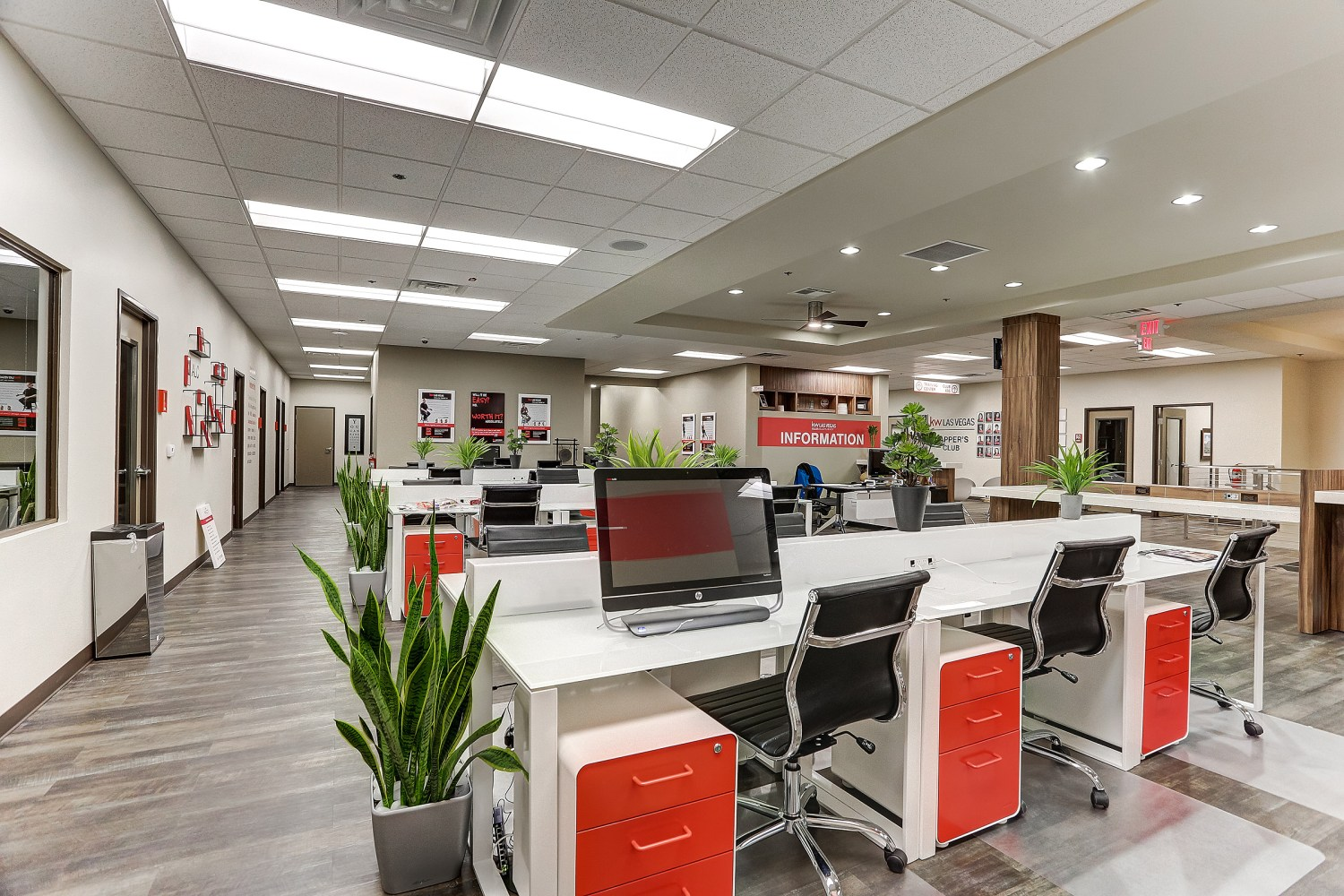 Open Layout Corporate Office -Design-Tribe-Online-Interior-Design
