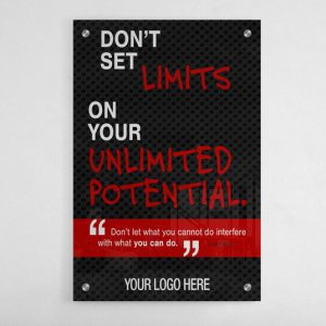 BG-2027-DONT-SET-LIMITS-ON-YOUR-UNLIMITED-POTENTIAL-24X36–SALES-MOTIVATION-GRAPHIC-DESIGN-TRIBE-ONLINE-DESIGN.acrylic
