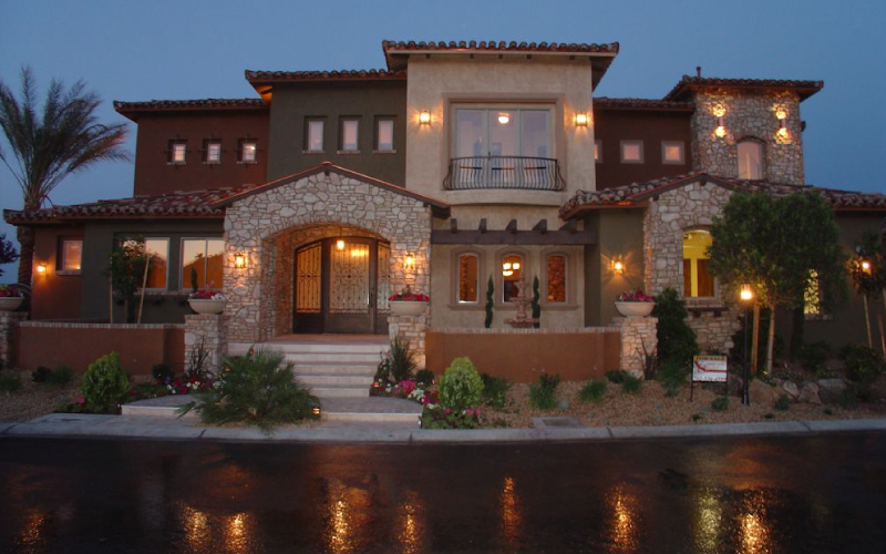 Exterior-Color-Scheme-Stone-Residential-Design-Tribe-Online-Interior-Design