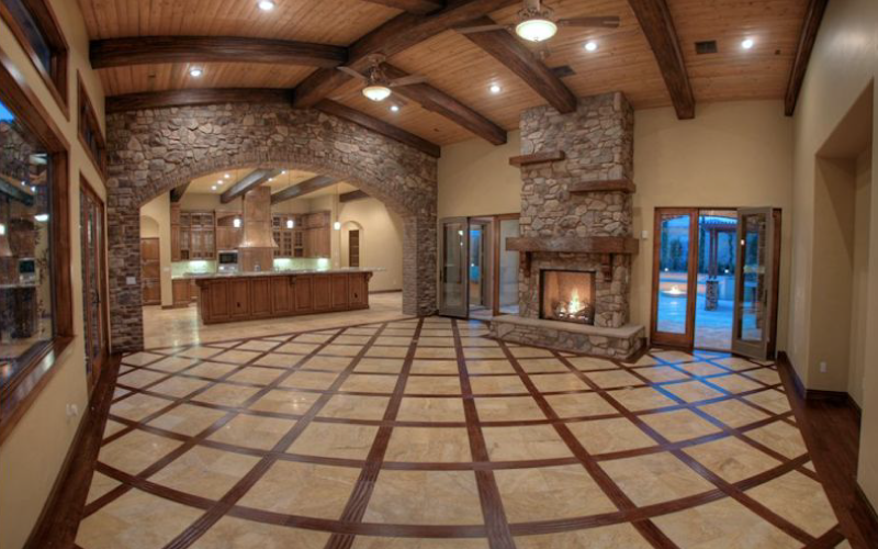 Open-Plan-Stone-Wood-Flooring-Fireplace-Residential-Design-Tribe-Online-Interior-Design