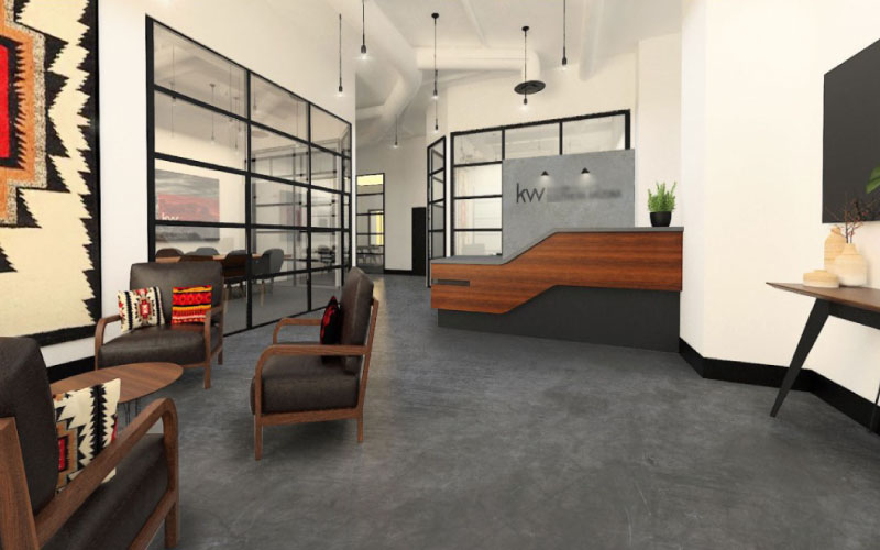 Lobby Corporate Workspace Design
