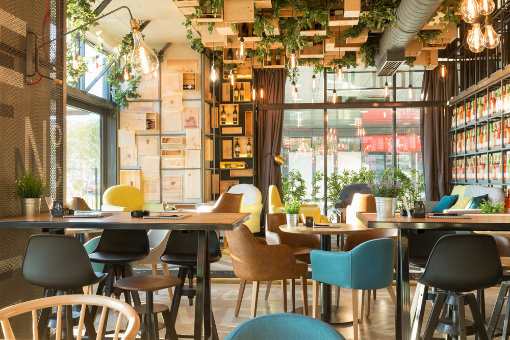 Design-Tribe-Restaurant-Online-Interior-Design-Colorful-Biophilic-Greenery