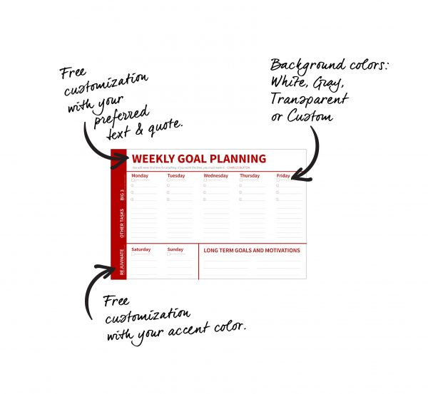 BG-2036-WEEKLY-GOAL-PLANNER_36x24-GOALS-CULTURE-SALES-GROWTH-DESIGN-TRIBE-GRAPHIC-DESIGN-acrylic-labeled